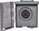Parallax Power U054P Parallax Outdoor Power Outlet, 50A, 120/240V