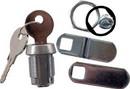 JR Products Deluxe Compartment Door Key Lock, 5/8