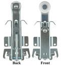 JR Products 20575 Top Wardrobe Door Hanger for RV Mirrored Closet Doors
