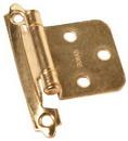 Rv Designer H237 Hinge-Self Closing Brass 2/Pk