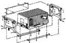 Onan Underfloor Mounting Kit, A030X652