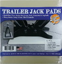 Leisure Time 14039 Stabilizing Base Pads for RV Trailer Jacks - 4 Pack