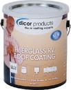 Dicor Fiberglass RV Roof Coating, Gal., RP-FRC-1