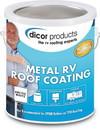 Dicor Elastomeric Metal RV Roof Coating, Gal., RP-MRC-1