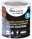 Dicor Signature Extended Life RV Roof Coating, White, Gal., RPSELRC1