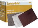 3M 07445 Scotch Brite Hand Pads, Very Fine, White, 20/Box, 051131074453