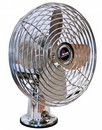 Prime Products 06-0852 Prime 2 Speed 12V Fan, Chrome