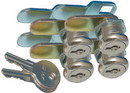 Prime Products 18-3319 Prime Standard Key Cam Lock, 1-1/8