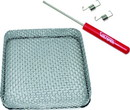 Valterra A10-1322VP Bug Screen For RV Water Heater Vent, Square, Fits Suburban models 8535, 8531, 8525, 8940 DC and 8940 AC