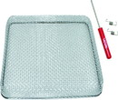 Valterra A10-1323VP Stainless Steel Bug Screen for RV Water Heater Vent