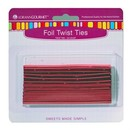 LorAnn Oils 5717-0000 Twist Ties, Red 50 pack