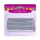 LorAnn Oils 5719-0000 Twist Ties, Silver 50 pack