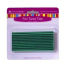 LorAnn Oils 5722-0000 Twist Ties, Green 50 pack