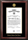 Campus Images AFCG001 Air Force Commission Frame Gold Medallion