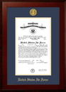 Campus Images AFCHO001 Patriot Frames Air Force 10x14 Certificate Honors Frame with Gold Medallion