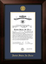 Campus Images AFCLG001 Patriot Frames Air Force 10x14 Certificate Legacy Frame with Gold Medallion