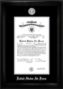 Campus Images AFCS002 Air Force Commission Frame Silver Medallion