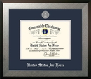 Campus Images AFDHO002 Patriot Frames Air Force 8.5x11 Discharge Honors Frame with Silver Medallion