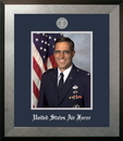 Campus Images AFPHO002 Patriot Frames Air Force 8x10 Portrait Honors Frame with Silver Medallion