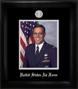 Campus Images AFPS002 Air Force Portrait Frame Silver Medallion