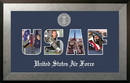 Campus Images AFSSHO002S Patriot Frames Air Force Collage Photo Honors Frame with Silver Medallion