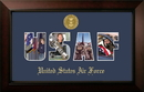 Campus Images AFSSLG001S Patriot Frames Air Force Collage Photo Legacy Frame with Gold Medallion
