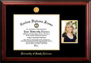 Campus Images AL991PGED-1512 University of South Alabama 15w x 12h Gold Embossed Diploma Frame with 5 x7 Portrait