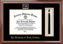 Campus Images AL991PMHGT University of South Alabama Tassel Box and Diploma Frame