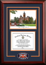 Campus Images AL992SG Auburn University Spirit  Graduate Frame with Campus Image