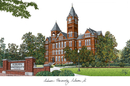 Campus Images AL992 Auburn University Campus Images Lithograph Print