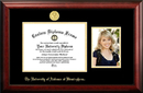 Campus Images AL995PGED-1185 University of Alabama, Birmingham 11w x 8.5h Gold Embossed Diploma Frame with 5 x7 Portrait