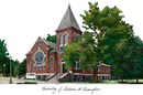Campus Images AL995 University of Alabama - Birmingham Campus Images Lithograph Print