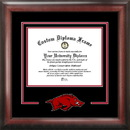 Campus Images AR999SD University of Arkansas Spirit Diploma Frame