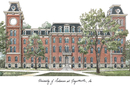 Campus Images AR999 University of Arkansas Campus Images Lithograph Print