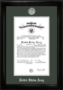 Campus Images ARCS002 Army Commission Frame Silver Medallion