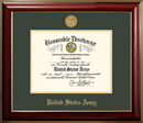 Campus Images ARDCL001 Patriot Frames Army 8.5x11 Discharge Classic Frame with Gold Medallion