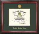 Campus Images ARDG001 Army Discharge Frame Gold Medallion