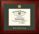 Campus Images ARDHO001 Patriot Frames Army 8.5x11 Discharge Honors Frame with Gold Medallion