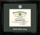 Campus Images ARDS002 Army Discharge Frame Silver Medallion