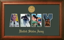 Campus Images ARSSW002S Patriot Frames Army Collage Photo Walnut Frame Gold Medallion