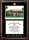 Campus Images AZ994LGED Arizona State University Gold embossed diploma frame with Campus Images lithograph