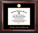 Campus Images AZ995GED Northern Arizona University Gold Embossed Diploma Frame