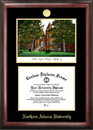 Campus Images AZ995LGED Northern Arizona University Gold embossed diploma frame with Campus Images lithograph