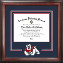 Campus Images CA920SD Cal State Fresno Spirit Diploma Frame