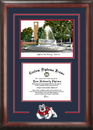 Campus Images CA920SG Cal State Fresno Spirit  Graduate Frame with Campus Image