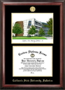 Campus Images CA921LGED California State University - Fullerton Gold embossed diploma frame with Campus Images lithograph