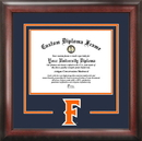 Campus Images CA921SD California State University - Fullerton Spirit Diploma Frame