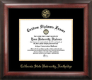 Campus Images CA924GED California State University - Northridge Gold Embossed Diploma Frame