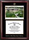 Campus Images CA924LGED California State University - Northridge Gold embossed diploma frame with Campus Images lithograph