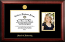 Campus Images CA932PGED-1185 Stanford University 11w x 8.5h Gold Embossed Diploma Frame with 5 x7 Portrait